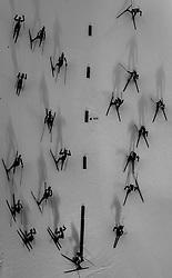 March 16, 2019 - –Stersund, Sweden - 190316 Athletes compete in the Men's 4x7,5 km Relay during the IBU World Championships Biathlon on March 16, 2019 in Östersund..Photo: Petter Arvidson / BILDBYRÃ…N / kod PA / 92269 (Credit Image: © Petter Arvidson/Bildbyran via ZUMA Press)