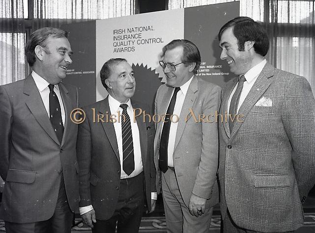 Irish National Insurance Quality Control Awards, Dawson St., Dublin,<br /> 15th May 1984