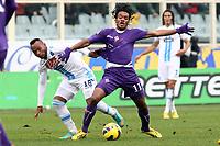 "Juan Camilo Zuniga Napoli Juan Quadrado Fiorentina.Firenze 20/01/2013 Stadio ""Franchi"".Football Calcio Serie A 2012/13.Fiorentina v Napoli.Foto Insidefoto Paolo Nucci."