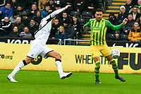 Football - 2019 / 2020 Sky Bet (EFL) Championship - Swansea City vs. West Bromwich Albion<br /> <br /> Hal Robson-Kanu of WBA is set clear in the box but fails to score, at The Liberty Stadium.<br /> <br /> COLORSPORT/WINSTON BYNORTH