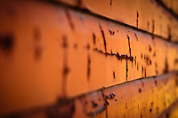 I had a photo session at The Ranche in Fish Creek Park. I arrived early and took advantage of that and explored the area to make some detail images. The textures of the peeling paint on some of the fence boards and the walls of the barns are very cool!<br /> <br /> ©2010, Sean Phillips<br /> http://www.RiverwoodPhotography.com