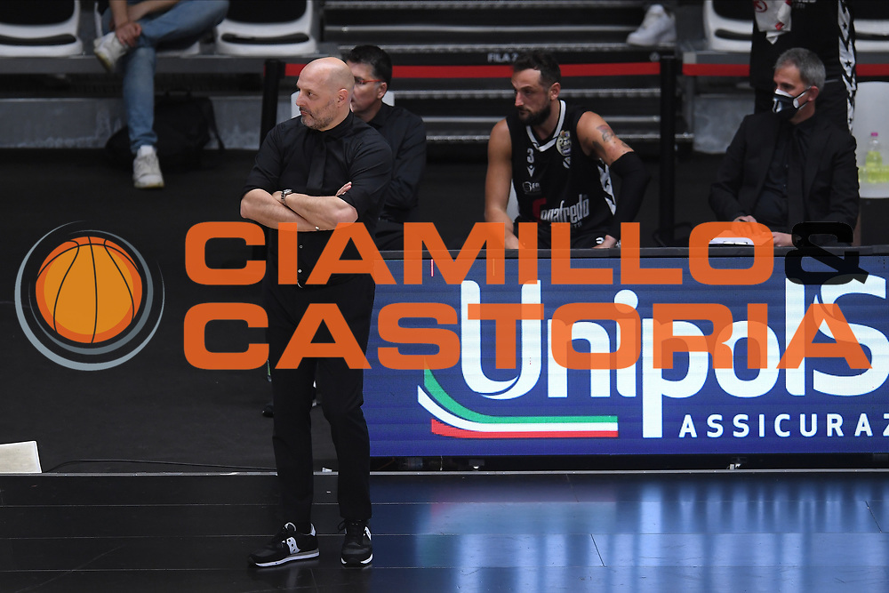 Djordjevic Alexandar<br /> Segafredo Virtus Bologna - Happy Casa Brindisi<br /> Semifinali - Gara 3<br /> Legabasket Serie A UnipolSAI 2020/2021<br /> Bologna, 02/06/2021<br /> Foto GiulioCiamillo / Ciamillo