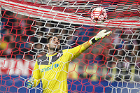 Olympiacos´s goalkeeper Roberto during Champions League soccer match between Atletico de Madrid and Olympiacos at Vicente Calderon stadium in Madrid, Spain. November 26, 2014. (ALTERPHOTOS/Victor Blanco)