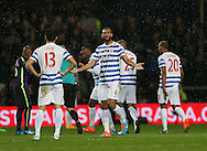 QPR's Steven Caulker looks on dejected after a goal was disallowed by referee Mike Dean<br /> <br /> - Barclays Premier League - Queens Park Rangers vs Manchester City- Loftus Road - London - England - 8th November 2014  - Picture David Klein/Sportimage