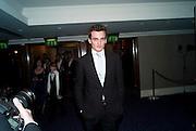 RUPERT FRIEND, The Laurence Olivier Awards,The Grosvenor House Hotel, Park Lane. London.   21 March  2010