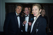 SIR BRYAN FERRY; HON PHILIP ASTOR; JUSTINE PICARDIE, Nicky Haslam hosts dinner at  Gigi's for Leslie Caron. 22 Woodstock St. London. W1C 2AR. 25 March 2015