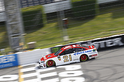 June 1, 2018 - Long Pond, Pennsylvania, United States of America - Paul Menard (21) brings his car down the frontstretch during qualifying for the Pocono 400 at Pocono Raceway in Long Pond, Pennsylvania. (Credit Image: © Chris Owens Asp Inc/ASP via ZUMA Wire)