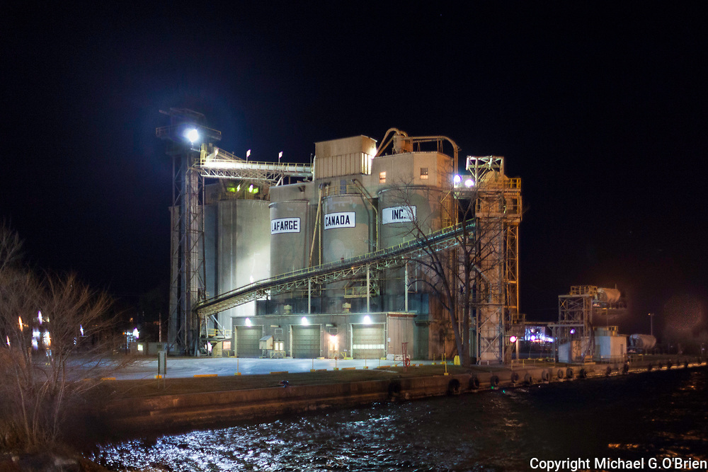 La Farge Cement, Port of Toronto