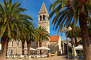Dominican Monastery - Trogir Croatia .<br /> <br /> Visit our MEDIEVAL PHOTO COLLECTIONS for more   photos  to download or buy as prints https://funkystock.photoshelter.com/gallery-collection/Medieval-Middle-Ages-Historic-Places-Arcaeological-Sites-Pictures-Images-of/C0000B5ZA54_WD0s