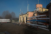 Varese. Lombardia. ITALY. General View. Varese Rowing Club. [Canottieri Varese]<br /> <br /> Thursday  22/12/2016<br /> <br /> [Mandatory Credit; Peter Spurrier/Intersport-images]