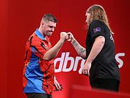 Ryan Searleduring the 2018 Players Championship Finals at Butlins Minehead, Minehead, United Kingdom on 24 November 2018.