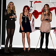 NLD/Amsterdam/20100215 -  inloop verkiezing Miss i Love Fashion, Josh Veldhuizen en Christina Curry