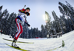 March 8, 2019 - –Stersund, Sweden - 190308 Lisa Theresa Hauser of Austria competes in the Women's 7.5 KM sprint during the IBU World Championships Biathlon on March 8, 2019 in Östersund..Photo: Petter Arvidson / BILDBYRÃ…N / kod PA / 92247 (Credit Image: © Petter Arvidson/Bildbyran via ZUMA Press)