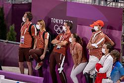 Balsiger Bryan, SUI, Twenty Two Des Biches, 381, Team Switzerland<br /> Olympic Games Tokyo 2021<br /> © Hippo Foto - Dirk Caremans<br /> 07/08/2021