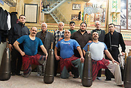 Tehran. Iran Zurkaneh of Palawan near the grand bazar . Palawan means Hero. . A kinf of martial art and wrestling