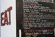 Wall Menu - Art-Is-In Bakery at 250 City Centre Ave. #112 in Ottawa