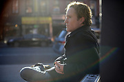 """BROOKLYN, NEW YORK, DECEMBER 5, 2016 Actor Patrick """"Patch"""" Darragh is seen in Brooklyn, NY. He stars in Sully as the air traffic controller who fears he has lost a jetliner, not knowing Sullenberger landed it safely on the Hudson River. 12/5/2016 Photo by Jennifer S. Altman/For The Times"""