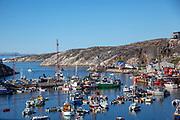 Ilulissat harbour, Greenland, Polar Region