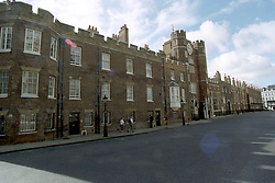 The Royal Chapel at St James's Palace, where the body of the Princess of Wales lies in rest.