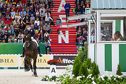 Tinne Vilhelmson Silfven, (SWE), Don Auriello - Grand Prix Special Dressage - Alltech FEI World Equestrian Games™ 2014 - Normandy, France.<br /> © Hippo Foto Team - Leanjo de Koster<br /> 25/06/14