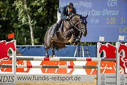 SCHOELLHORN Philipp (GER), Darkina<br /> 2. Qualifikation 5jährige Pferde<br /> Warendorf - Bundeschampionate 2020<br /> 28. August 2020<br /> © www.sportfotos-lafrentz.de/Stefan Lafrentz