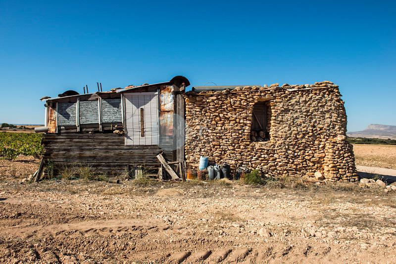 Casa de piedras. Almansa. Albacete ©Antonio Real Hurtado / PILAR REVILLA