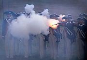 Image of the Revolutionary War reenactment at Yorktown, Virginia, east coast by Randy Wells