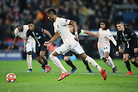 Football - 2018 / 2019 UEFA Champions League - Round of Sixteen, Second Leg: Paris Saint-Germain (2) vs. Manchester United (0)<br /> <br /> Markus Rashford of Manchester United scores his sides third goal from the penalty spot, at Parc des Princes, Paris.<br /> <br /> COLORSPORT/IAN MACNICOL
