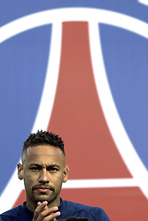 January 19, 2019 - Paris, France - PSG's Neymar during the French L1 football match Paris Saint-Germain (PSG) vs Guingamp (EAG), on January 19, 2019 at the Parc des Princes stadium in Paris. (Photo by Mehdi Taamallah / Nurphoto) (Credit Image: © Mehdi Taamallah/NurPhoto via ZUMA Press)