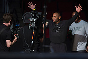HOUSTON, TX - OCTOBER 2:  Daniel Cormier walks to the scale during the UFC 192 weigh-in at the Toyota Center on October 2, 2015 in Houston, Texas. (Photo by Cooper Neill/Zuffa LLC/Zuffa LLC via Getty Images) *** Local Caption *** Daniel Cormier