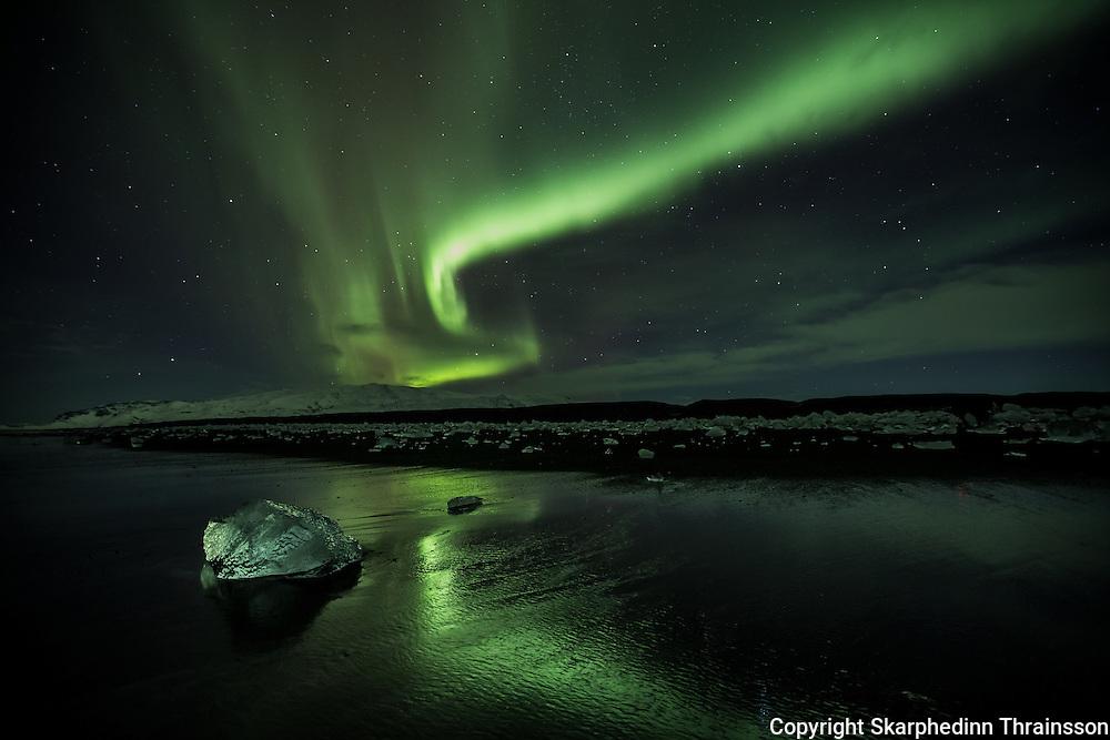 Aurora and Ice