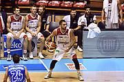 DESCRIZIONE : Supercoppa 2015 Semifinale Banco di Sardegna Sassari - Grissin Bon Reggio Emilia<br /> GIOCATORE : Pietro Aradori<br /> CATEGORIA : palleggio<br /> SQUADRA : Grissin Bon Reggio Emilia<br /> EVENTO : Supercoppa 2015<br /> GARA : Banco di Sardegna Sassari - Grissin Bon Reggio Emilia<br /> DATA : 26/09/2015<br /> SPORT : Pallacanestro <br /> AUTORE : Agenzia Ciamillo-Castoria/GiulioCiamillo