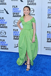 February 8, 2020, Santa Monica, Kalifornien, USA: Lulu Wang bei der 35. Verleihung der Film Independent Spirit Awards 2020 im Zelt am Santa Monica Beach. Santa Monica, 08.02.2020 (Credit Image: © Future-Image via ZUMA Press)
