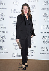 Olivia Colman attending the Harper's Bazaar Woman of the Year awards at Claridges in London. Picture date: Monday October 31, 2016. Photo credit should read: Isabel Infantes / EMPICS Entertainment.