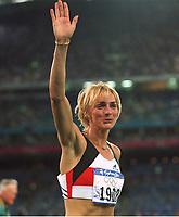 DRECHSLER, Heike<br />           Leichtathletik Weitsprung Deutschland<br />Olympiasiegerin Gold Olympia 2000
