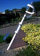 Sun dial, Elmhurst Park, Woodbridge, Suffolk, England