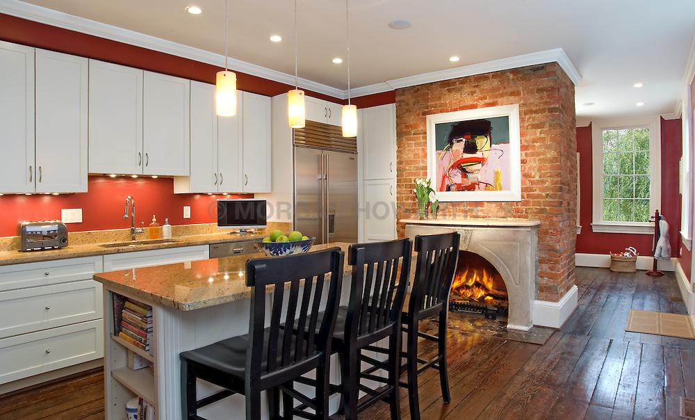 fireplace. Kitchen _VA_1-803-266 3003_O_St_
