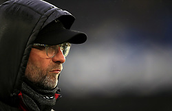Liverpool manager Jurgen Klopp looks on during the Premier League match at Goodison Park, Liverpool.