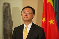 DEU, Deutschland, Germany, Berlin, 07.12.2011:<br />Außenminister Guido Westerwelle (FDP) und der chinesische Außenminister Yang Jiechi während eines gemeinsamen Pressestatements in der Villa Borsig.