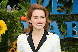 Daisy Ridley attending the gala premiere of Peter Rabbit, at the Vue West End cinema in London. Picture date: Sunday March 11th, 2018. Photo credit should read: Matt Crossick/ EMPICS Entertainment.