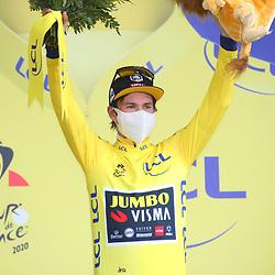 Tour de France 2020  <br /> Jumbo-Visma rider Primoz Roglicv