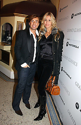 JULIEN MACDONALD and MELISSA ODABASH at the Grand Classics screening of Manhattan hosted by Giles Deacon at the Electric Cinema, Portobello Road, London W11 on 13th November 2006.<br />