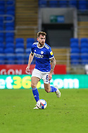 Cardiff City's Joe Ralls (8) in action during the EFL Sky Bet Championship match between Cardiff City and Millwall at the Cardiff City Stadium, Cardiff, Wales on 30 January 2021.