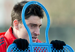 10.03.2010, Melwood Training Ground, Liverpool, ENG, UEFA EL, Liverpool FC Training, im Bild Liverpool's Albert Riera, EXPA Pictures © 2010, PhotoCredit: EXPA/ Propaganda/ D. Rawcliffe / for Slovenia SPORTIDA PHOTO AGENCY.