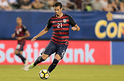 July 19, 2017 - Philadelphia, PA, USA - Philadelphia, PA - Wednesday July 19, 2017: Matt Hedges during a 2017 Gold Cup match between the men's national teams of the United States (USA) and El Salvador (SLV) at Lincoln Financial Field. (Credit Image: © John Dorton/ISIPhotos via ZUMA Wire)
