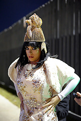 29 January 2016. New Orleans, Louisiana.<br /> Queen of the parade - Myra F Cancienne prepares for the Krewe of Cleopatra to kick off the main parading season of Mardi Gras in New Orleans with floats filled with riders dispensing beads and throws, marching bands and dance troupes. Families line the streets Uptown to cheer on Cleopatra - 'Throw me something Mister!'<br /> Photo©; Charlie Varley/varleypix.com