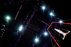 August 9, 2018 - Glasgow, UNITED KINGDOM - 180809 Stian Skjerahaug of Norway competes at the rings in the qualification of Men's Artistic Gymnastics during the European Championships on August 9, 2018 in Glasgow..Photo: Jon Olav Nesvold / BILDBYRN / kod JE / 160290 (Credit Image: © Jon Olav Nesvold/Bildbyran via ZUMA Press)