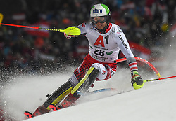 """29.01.2019, Planai, Schladming, AUT, FIS Weltcup Ski Alpin, Slalom, Herren, 1. Lauf, im Bild Marc Digruber (AUT) // Marc Digruber of Austria in action during his 1st run of men's Slalom """"the Nightrace"""" of FIS ski alpine world cup at the Planai in Schladming, Austria on 2019/01/29. EXPA Pictures © 2019, PhotoCredit: EXPA/ Erich Spiess"""