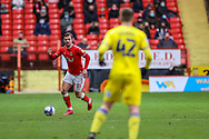 Charlton Athletic midfielder Alex Gilbey (11) during the EFL Sky Bet League 1 match between Charlton Athletic and AFC Wimbledon at The Valley, London, England on 12 December 2020.
