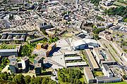 Nederland, Noord-Brabant, Breda, 23-08-2016; Centrum Breda met Chasse theater, Kloosterkazerne, Chasse Promenade. <br /> aerial photo (additional fee required); <br /> luchtfoto (toeslag op standard tarieven); copyright foto/photo Siebe Swart